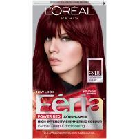 L'Oreal Paris Feria Multi-Faceted Shimmering Permanent Hair Color, R48 Red Velvet (Intense Deep Auburn), 1 Count kit Hair Dye