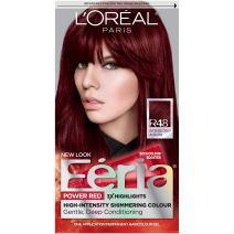 L'Oreal Paris Feria Multi-Faceted Shimmering Permanent Hair Color, R48 Red Velvet (Intense Deep Auburn), 1 Count kit Hair Dye