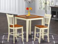 3 PC counter height set - Dining Table and 2 bar stools.