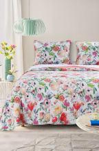 Barefoot Bungalow GL-1711BMSQ Blossom Quilt Set, Full/Queen, Multi