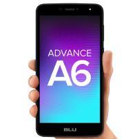 """BLU Advance A6 -Unlocked Dual Sim Smartphone - 6.0"""" HD Display -Black"""