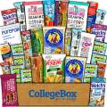 CollegeBox Healthy Care Package (30 Count) Natural Food Bars Nuts Fruit Health Nutritious Snacks Variety Gift Box Pack Assortment Basket Bundle Mix Sampler College Students Final Exams Office Easter