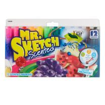 Mr. Sketch Scented Markers, Chisel-Tip, Assorted Colors