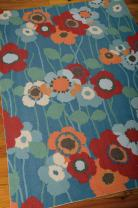 Nourison Wav01/Sun & Shade Blbel Rectangle Area Rug, 10-Feet by 13-Feet (10' x 13')