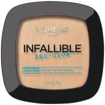 L'Oréal Paris Infallible Pro Glow Pressed Powder, Nude Beige, 0.31 oz.