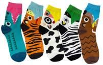 Mauya Funny Cute Fashion Animal Socks Womens Teen Casual Gift Socks