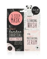 Oh K! Korean Multi-Step Face Charcoal Mask