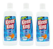 Kleen King Stainless Steel Cookware Cleaner and Copper Cleaner (14 oz, Pack of 3) Helps Remove Stains and Tarnish from Pots and Pans, Multi-Purpose Metal Cleaner, Liquid Form