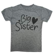Big Sister & Little Sister Shirt/Dress/Raglan Toddler Kids T-Shirt