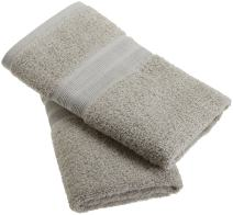100% Organic Cotton Luxury Hand Towel- Made Here by 1888 Mills (2pk)