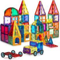 180 PCS 3D Magnetic Blocks Magnetic Tiles - Magnet Building Tiles | Magnetic Tiles Toy Building Sets | Magnetic Building Blocks | Kids Magnets For Kids | Magnetic Tiles For Kids | Magna t Blocks