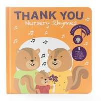 Cali's Books-Thank You Nursery Rhymes - Gratitude Sound Book for Toddlers Ages 1-4. Musical Book for Kids About gratefulness. Best Educational Gift for Little Boys and Girls