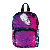 Style.Lab by Fashion Angels Magic Sequin Mini Backpack - Multi/Silver