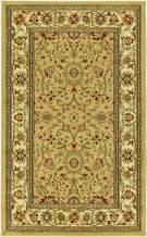 Safavieh Lyndhurst Collection LNH212D Traditional Oriental Non-Shedding Stain Resistant Living Room Bedroom Area Rug, 4' x 6', Beige / Ivory