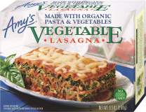 Amy's Vegetable Lasagna, Made with Organic Pasta & Vegetables, Non GMO, 9.5-Ounce