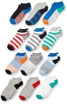 Amazon Brand - Spotted Zebra Boys' Cotton Ankle Socks
