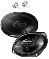 "Pioneer TS-G6930F 800 Watts Max Power 6 x 9"" 3-Way G-Series Coaxial Full Range Car Audio Stereo Speakers"
