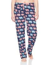 Little Blue House by Hatley Women's Animal Jersey Pajama Pants