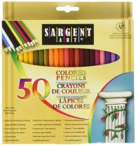 Sargent Art 50x2 22-7251 Colored Pencils, 2 Packs of 50, Assorted Colors