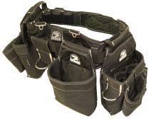 """Gatorback B145 Carpenters Triple Combo w/Pro-Comfort Back Support Belt. Heavy Duty Work Belt (3XL 50""""-55"""")"""