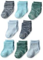 Hanes unisex-baby Ultimate Baby Flexy Ankle Length Socks 8-pack