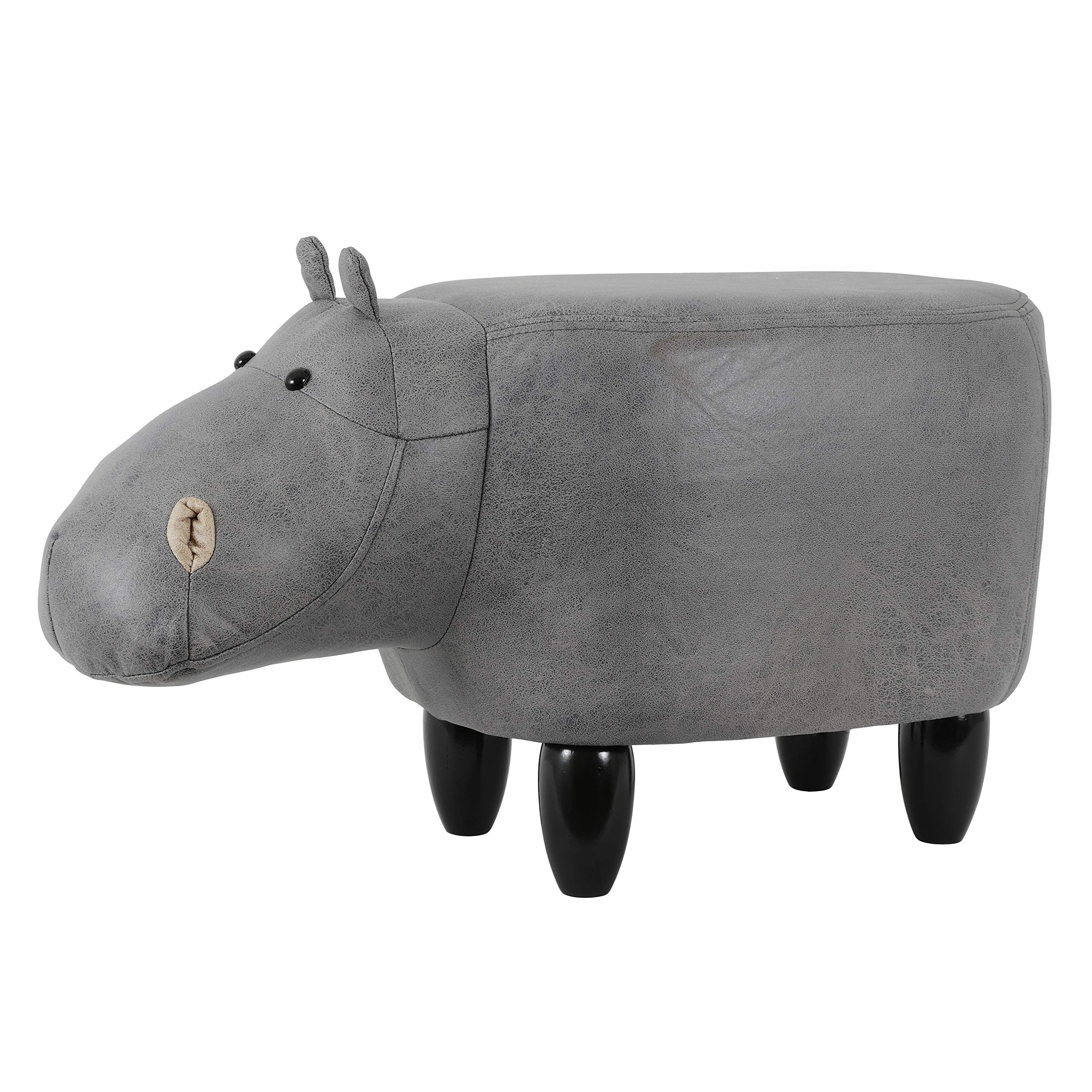 Decor Therapy Storage Stool, Hippo