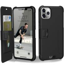 URBAN ARMOR GEAR UAG Designed for iPhone 11 Pro Max [6.5-inch Screen] Metropolis Feather-Light Rugged [Black] Military Drop Tested iPhone Case