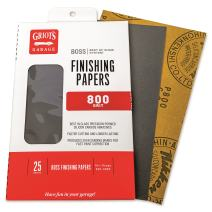 Griot's Garage B8025 Boss Finishing Papers 800g (25 Sheets)
