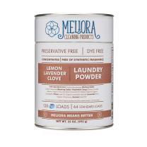 Meliora Cleaning Products Laundry Powder, Lemon-Lavender-Clove, 128 HE (64 Standard) Loads