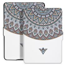 Ayotu Colorful Case for Kindle Paperwhite Auto Wake/Sleep Smart Protective Cover Case - Fits All Paperwhite Generations Prior to 2018(Not Fit All-New Kindle Paperwhite 10th Gen)K5-08 The Exotic Totem