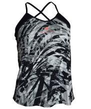 Active Tank Top with Spaghetti Strap Crisscross Back V Neck for Women Girls