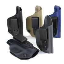 FoxX Holsters Deluxe Trapp Kydex IWB Holster - Ruger SR 9c & 40c Our Smallest Inside Waistband Holster Adjustable Cant & Retention, Conceal Carry