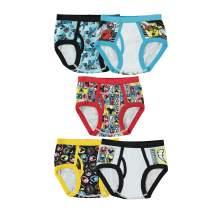 Handcraft Little Boys' Power Rangers  Brief (Pack of 5), Assorted, 8