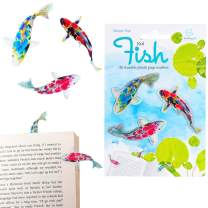 Stikki Marks Bookmarks Novelty Reusable Notepad Book Page Markers - Pack of 30 (Koi)