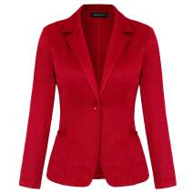 MINTLIMIT Blazers for Women Casual Long Sleeve Open Front Cardigan Work Office Blazers Jacket with Pockets