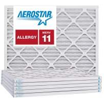 Aerostar 14x16x1 MERV 11, Pleated Air Filter, 14x16x1, Box of 6, Made in The USA