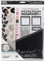 The Happy Planner Big Accessory Pack - Scrapbooking Supplies - Wild Styled Theme - Animal Print - Stickers, Sticky Notepads, Filler Paper & More - 88 Pieces