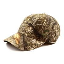 Hunting Baseball Hat - Official Licensed Realtree Camouflage Outdoor Sun Cap