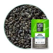Tiesta Tea - Chinese Gunpowder, Loose Leaf Traditional Smoky Green Tea, Medium Caffeine, Hot & Ice Tea, 1.8 oz Pouch - 25 Cups, Natural, Unsweetened, No Sugar, Green Tea Loose Leaf