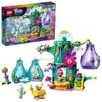 LEGO Trolls World Tour Pop Village Celebration 41255 Trolls Tree House Building Kit for Kids, New 2020 (380 Pieces)