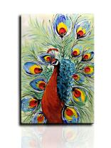 Desihum-Abstract Oil Painting Hand Painted Artwork Pictures on Canvas Wall Art Ready to Hang for Living Room (2436 inch(6090cm), Ds020)