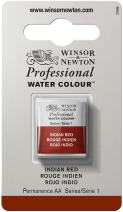 Winsor & Newton Professional Water Colour Paint, Half Pan, Indian Red