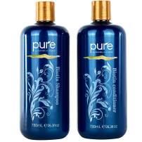 Biotin Shampoo and Conditioner Set for Thicker, Healthier Hair. Volumizing Stimulating Shampoo Conditioner Set for All Hair Types. Sulfate Free Shampoo Set Organic Ingredients!