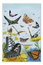 Butterfly Garden (Premium 1000 Piece Jigsaw Puzzle for Adults, 20x30, Made in USA!)