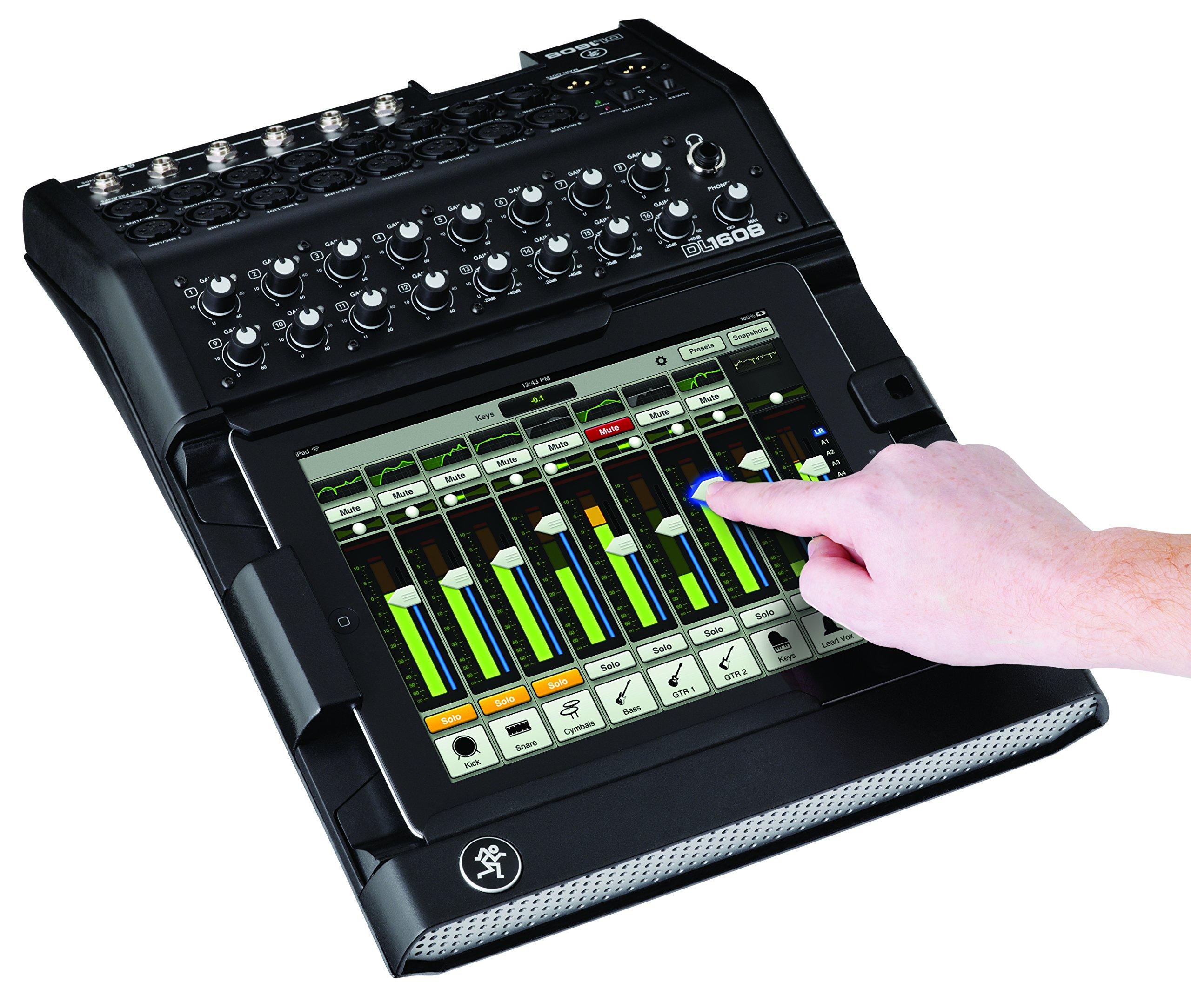 Mackie, Digital Mixer, Black, 16-channel (2044387-00)