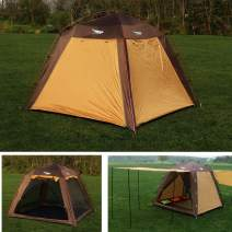 Luxe Tempo Screen House Tent 3-4 Person Canopy Tent Sun Shade Lightweight for Beach Backyard Camping Tall Fast Pitch