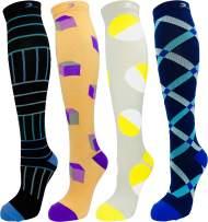 Men's Premium Quality Moderate Graduated Compression Socks 15-20 mmHg