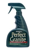 HOPE'S Perfect Granite & Marble Cleaner, 22-Ounce, Safe, Streak, Ammonia-Free Granite Cleaning Spray, Pack of 1, 22 Ounce