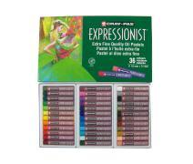 Sakura XLP36 36-Piece Cray-Pas Expressionist Assorted Color Oil Pastel Set