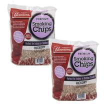 Camerons Products Smoking Chips - (Hickory) Kiln Dried, Natural Extra Fine Wood Smoker Sawdust Shavings - 4 Pound Bag Barbecue Chips